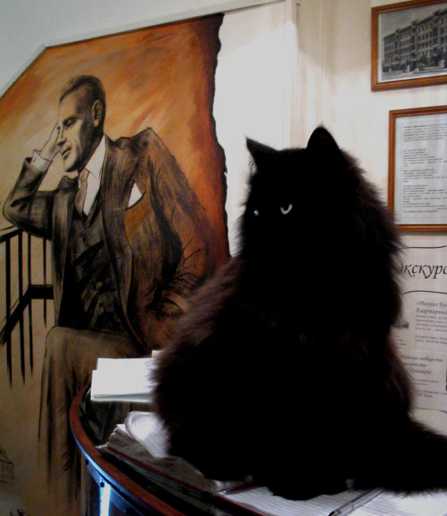 Булгаковского кота бегемота